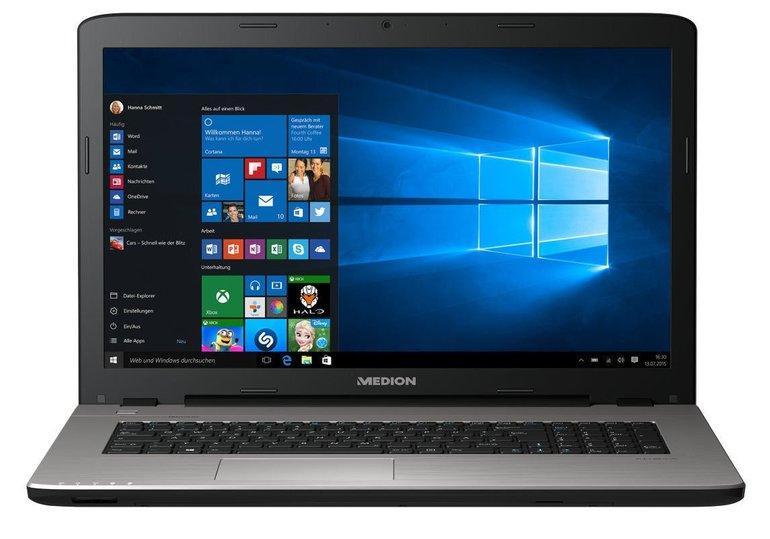 "Medion Akoya E7422 (MD99920) 17,3"" Notebook (i3, 128GB SSD, Win 10) für 433,33€"