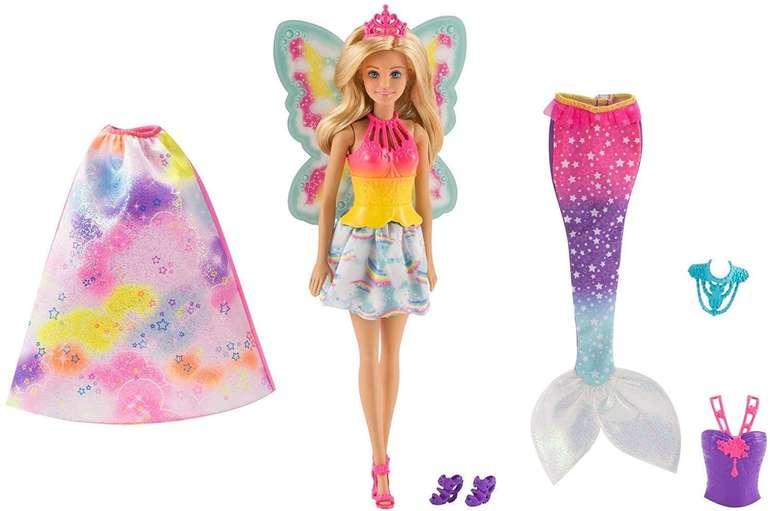 Barbie Dreamtopia Regenbogen Königreich 3in1 (FJD08) für 24,94€ inkl. Versand (statt 53€)
