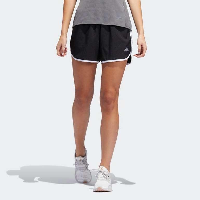 Adidas Damen Marathon 20 Shorts in schwarz/weiß für 13,10€ inkl. Versand (statt 22€)