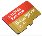 SanDisk Extreme Class 10 microSDXC Speicherkarte 64GB für 18€ inkl. Versand