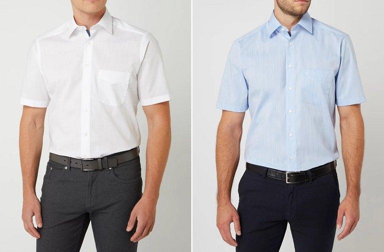 OLYMP Regular Fit Business-Hemd aus Baumwolle 2