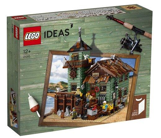Toys'R'Us mit 20% Rabatt auf Lego, z.B. Ideas - Alter Angelladen (21310) 119,99€
