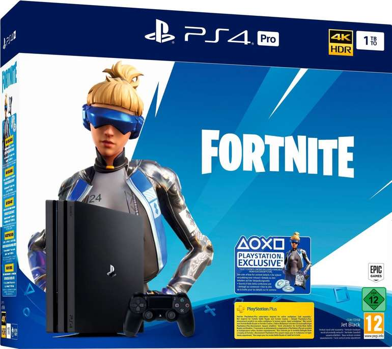 Bestpreis! Sony Playstation 4 Pro Fortnite Neo Versa Bundle für 243,98€ (statt 330€)