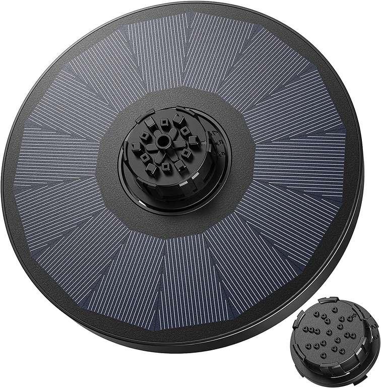 Okmee 2,2W Solar Springbrunnen für 6,49€ inkl. Prime Versand (statt 14€)