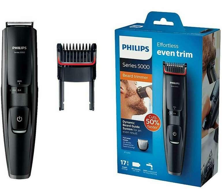 Philips BT5200/16 Series 5000 Bartschneider (abwaschbar) für 34,87€ inkl. Versand (statt 40€)