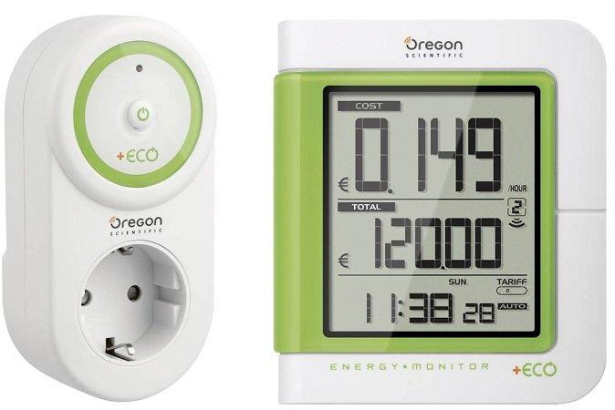 Oregon Scientific ESM600 Energiekosten-Messgerät inkl. Funk-Steckdose für 19,99€