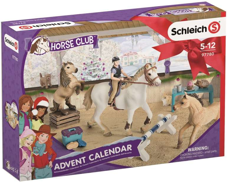 Schleich Adventskalender Horse Club (97780) für 20€ inkl. Versand (statt 38€)