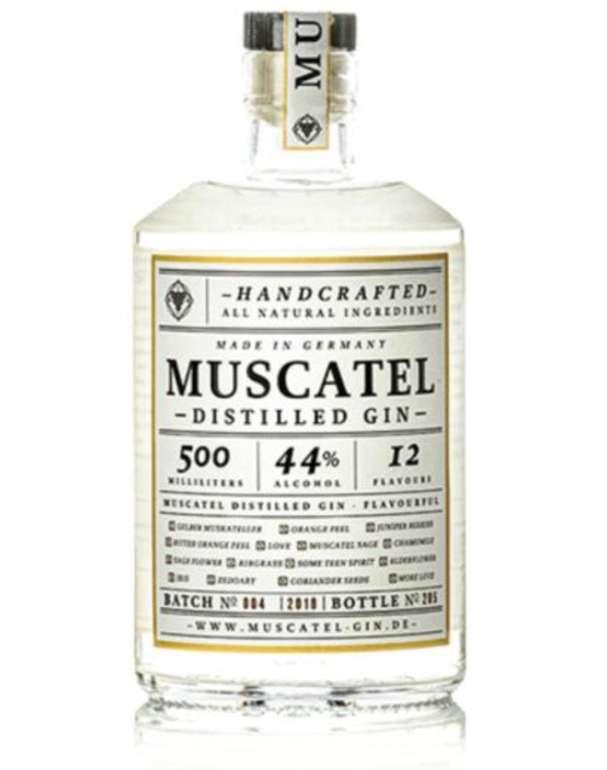 Wine-Selection: 1 Flasche Muscatel Distilled Gin (44%, 0,5 Liter) für 20€ inkl. Versand (statt 34€)