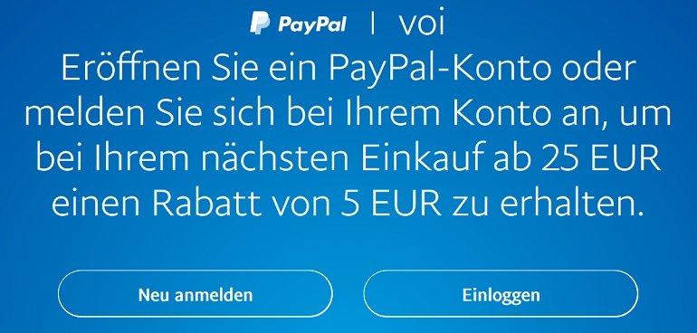Nintendo eShop Rabatt PayPal