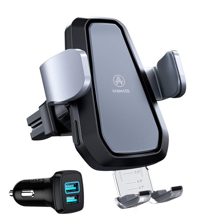 Vanmass Auto-Handyhalterung mit 10W/7,5W Qi Wireless Charger für 38,64€