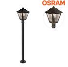 """Osram Außenleuchte """"Endura Classic"""" (100cm, 1xE27, 60W, 230V, IP44) für 22,90€"""