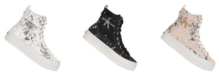 Calvin Klein Jeans Zazah Damen Plateau Sneaker