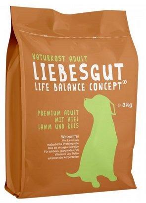 Liebesgut Naturkost: 50% auf Nass- und Trockenfutter für Hunde und Katzen