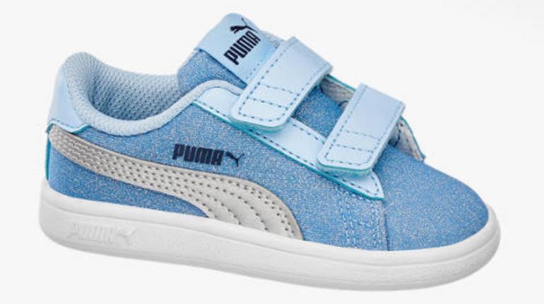Knaller! Puma Smash v2 Glitz Glam Kinder Sneaker für 15,90€ (statt 43€)