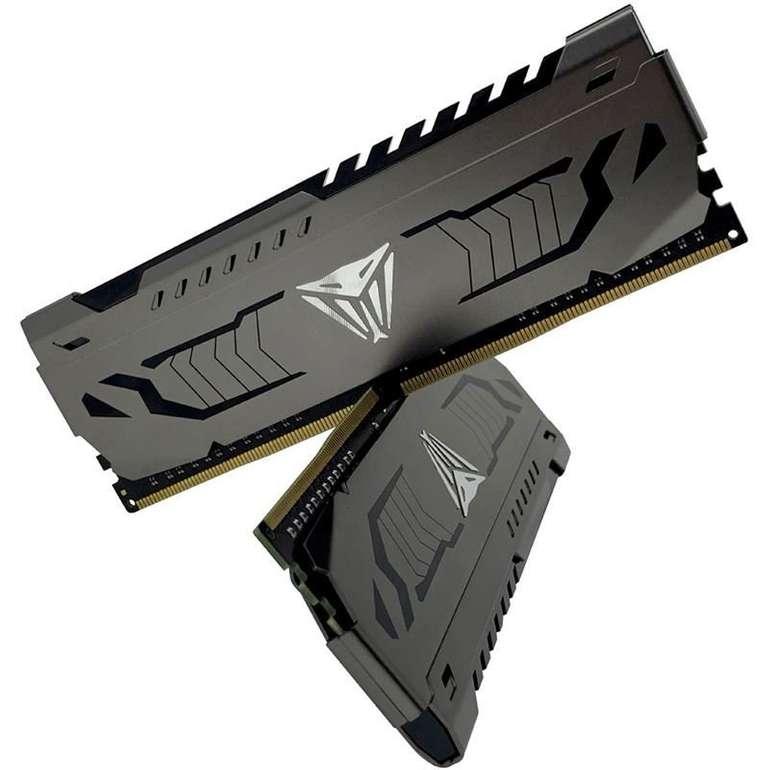 16GB Patriot Viper Steel DDR4-3733 DIMM CL17 Dual Kit für 75,89€ (statt 101€)