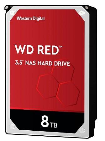 WD Red WD80EFAX - 3,5 Zoll SATA III Festplatte mit 8TB Speicher für 206,10€