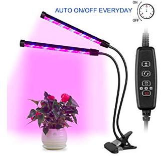 AGM Doppelkopf LED Pflanzen- Wachstums- Lampe für 16,99€ (statt 30€) - Prime!