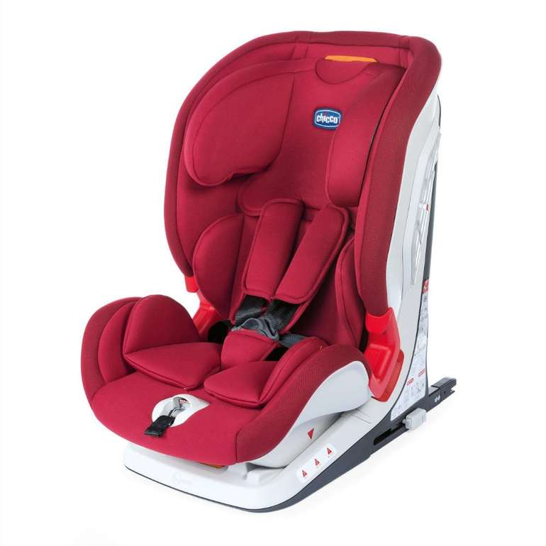 Chicco Kindersitz Youniverse Fix Gr. 1/2/3 Red Passion für 139,99€ inkl. Versand (statt 219€)