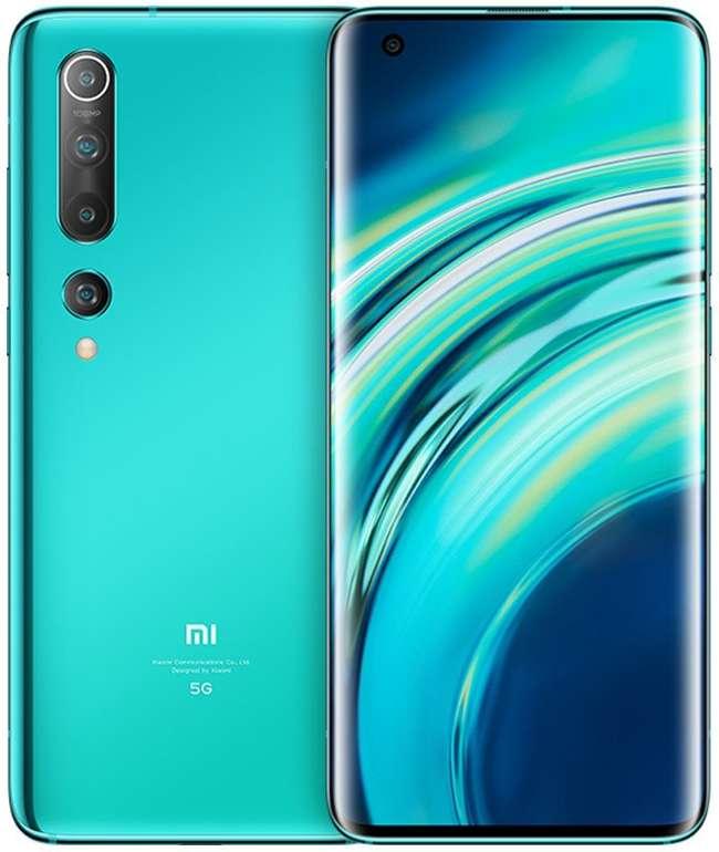 """Xiaomi Mi 10 - 6,67"""" Smartphone (256GB Speicher, 8GB RAM, NFC, Android 10) für 499€ (statt 594€)"""