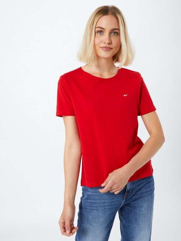 """Tommy Jeans Damen Shirt """"TJW Slim Jersey C Neck"""" für 14,34€ (statt 23€)"""