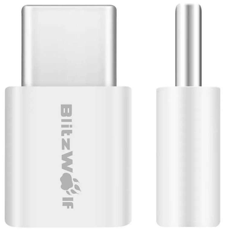 2x BlitzWolf BW-A2 Mikro USB auf USB Typ-C Adapter für 2,68€ inkl. Versand