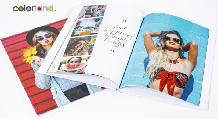 Colorland Fotobuch mit Hardcover & hochglanz, z.B. 140 Seiten für 28,01€