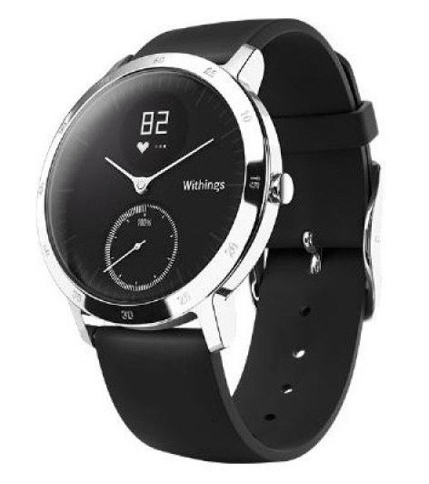 Nokia Withings Steel HR Hybridtracker/Smartwatch, 40mm in schwarz für 106,98€ inkl. VSK