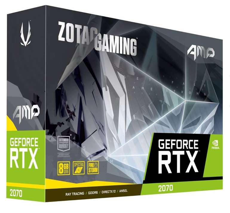 Nvidia Summer Sale bei Notebooksbilliger – z.B. Zotac GeForce RTX 2070 AMP! Edition für 423,99€