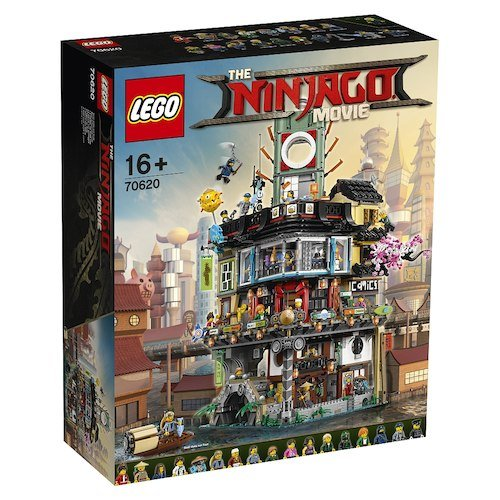 Schnell? The LEGO Ninjago Movie: 70620 Ninjago City  für 239,99€ (statt 290€)