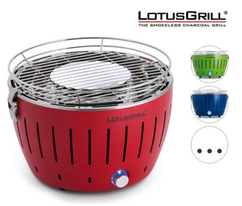 LotusGrill Mini Holzkohle-/Tischgrill (Ø 29 cm) für 105,90€inkl. Versand (statt 120€)