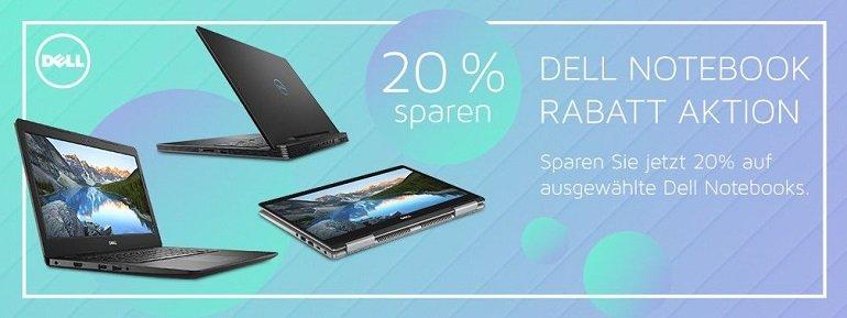 Office-Partner 20% Rabatt auf DELL Notebooks