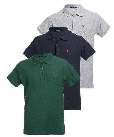 Polo Club: 3er Set Herren Polo`s ab 59,99€ zzgl. Versand (statt 90€) oder Sweatshirts ab 27,99€