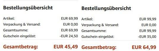 2 GVM Artikel günstiger bei Amazon dank Gutscheincode