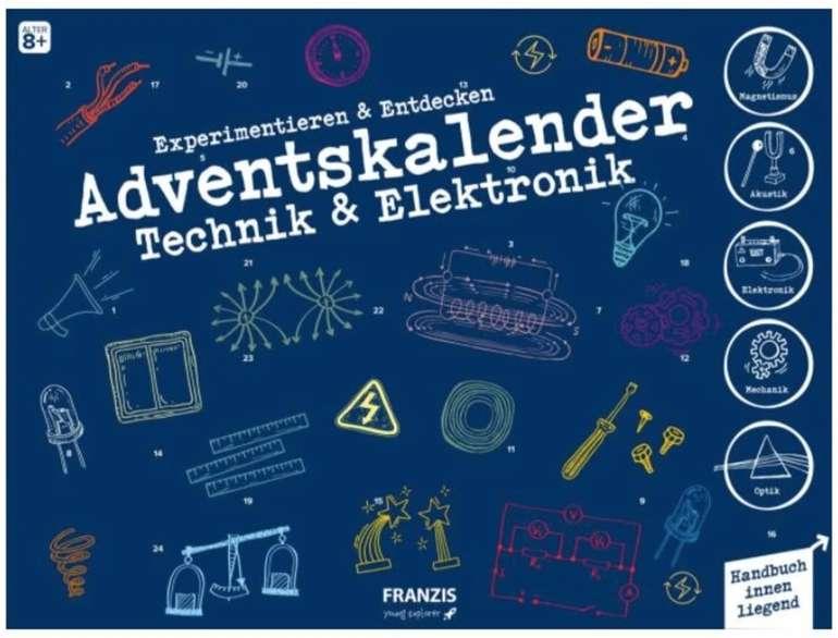 Franzis Technik & Elektronik Adventskalender 2020 (für Kinder ab 8 Jahren) für 15,60€ inkl. Versand