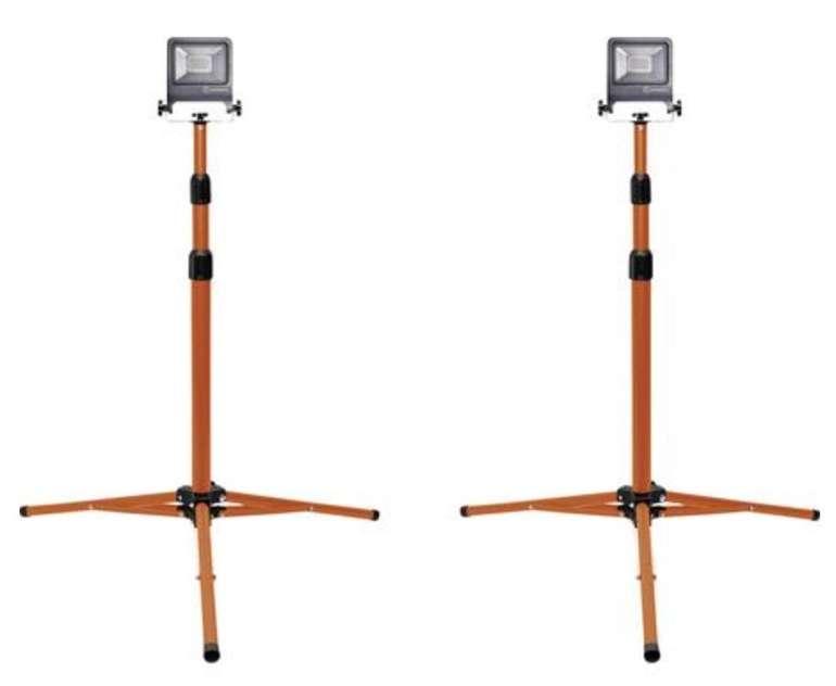2er Pack Ledvance Tripod 20 Watt LED Worklight Baustrahler für 39,99€ inkl. Versand (statt 60€)