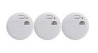 3er Set Rauchwarnmelder mit Batterie für 10€ mit Filiallieferung