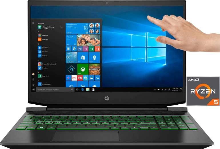 "HP Pavilion 15-ec1234ng - 15,6"" Notebook (AMD Ryzen 5, GTX 1650, 512 GB SSD, 16GB RAM) für 713,75€"