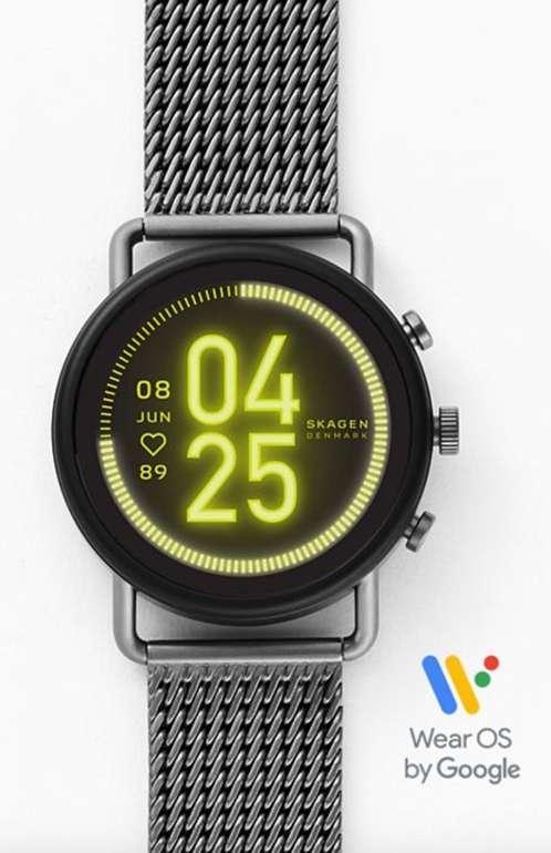 Skagen SKT5200 - HR Falster 3 Smartwatch mit Milanaise Armband für 224,25€ (statt 275€)