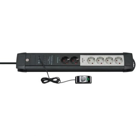 Brennenstuhl Premium-Line Comfort Switch Plus 6-fach Steckdosenleiste für 18,98€