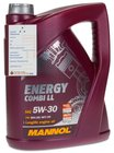 5 Liter Mannol SAE 5W-30 Energy Combi LL Motoröl für 21,99€ inkl. Versand