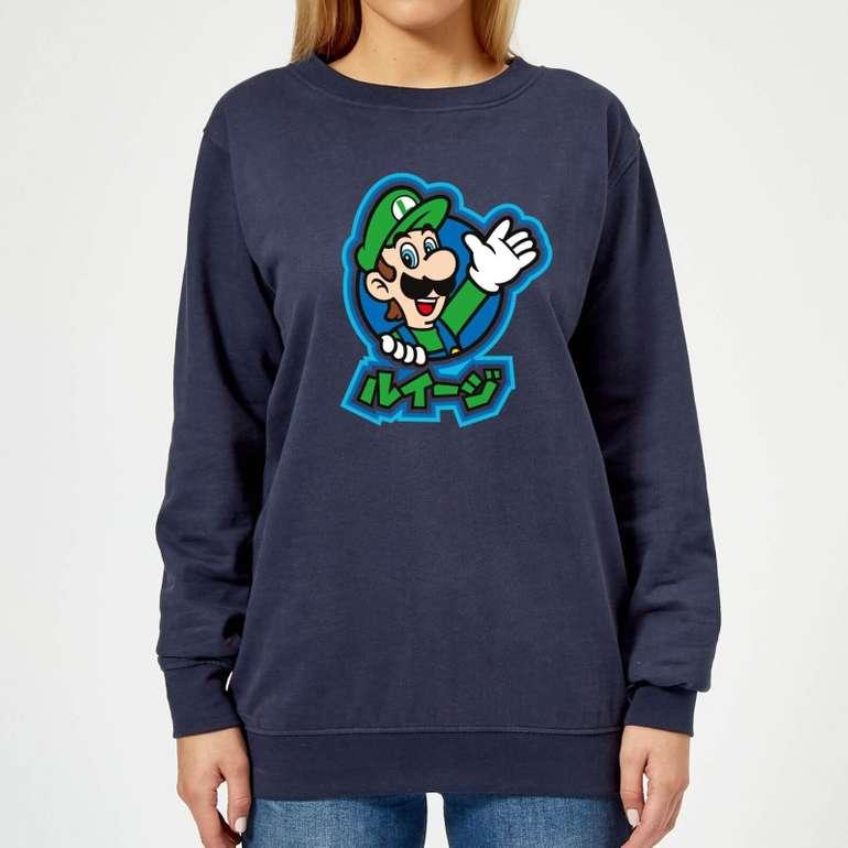 Zavvi: Verschiedene Damen & Herren Nintendo Sweatshirts für je 18,48€ inkl. Versand