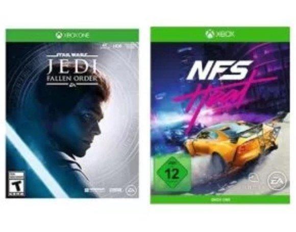 Xbox One X Konsole mit 1TB Speicher + Star Wars Jedi Fallen Order + Need for Speed Heat für 279,99€