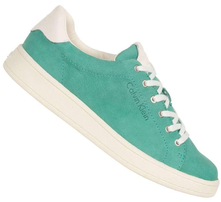 Calvin Klein Schuh Sale mit -73% Rabatt + 10% Extra - z.B. Solange Damen Low Top Sneaker für 31,49€ (statt 85€)