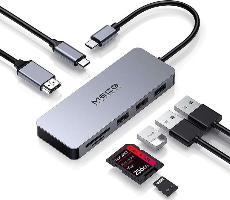 Meco Eleverde 7-in-1 USB Type-C Hub für 16,19€ inkl. Versand (statt 27€)