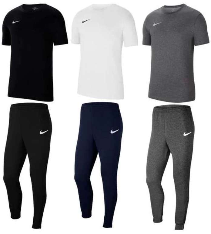 2-tlg. Nike Freizeit Outfit (Team Park 20 Dri-FIT Shirt + Team Park 20 Fleece Trainingshose) für 37,95€ (statt 45€)