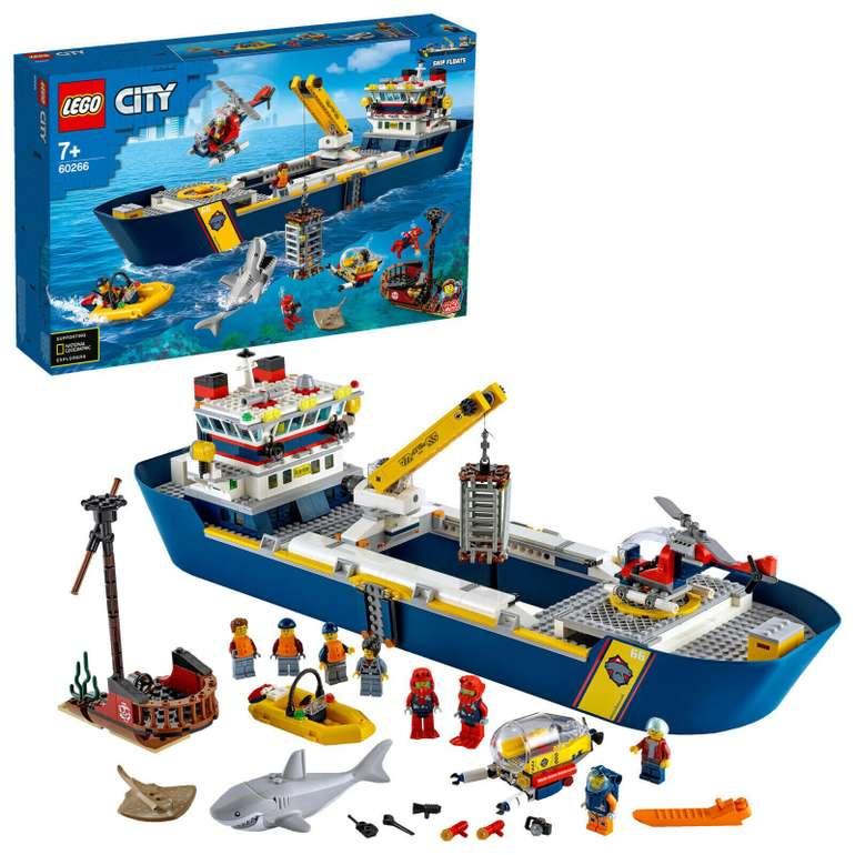Lego City - Meeresforschungsschiff (60266) für 84,90€ inkl. Versand (statt 95€)
