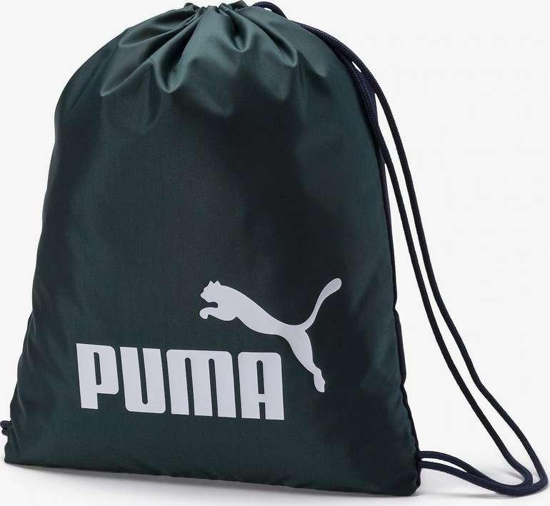 Puma Classic Turnbeutel in grün für 5,48€ inkl. Versand (statt 14€)