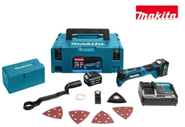 Makita TM30DSMJX4 Akku-Multitool (10,8 V) + 2 Akkus für 165,90€ inkl. Versand (statt 195€)