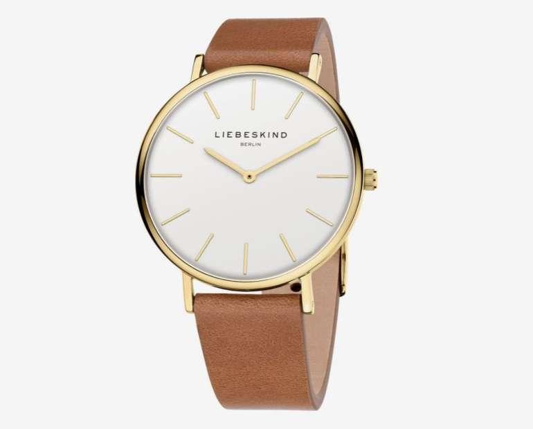 Liebeskind Berlin Uhr in Gold für 119€ inkl. Versand (statt 150€)