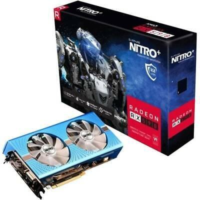 Sapphire Grafikkarte AMD Radeon RX 590 Nitro+ 8 GB GDDR5-RAM PCIe x16 für 167,96€